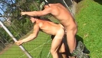 Sexo gay no quartel - Marcelão Ricko e Marcelo Lagoas