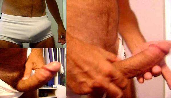 André Dogão; Dogão RJ; Sexo gay; wanking; bulge; brazilian big-dick; carioca pauzudo;
